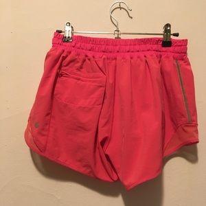 lululemon athletica Shorts - Lululemon Pink Athletic Shorts 6